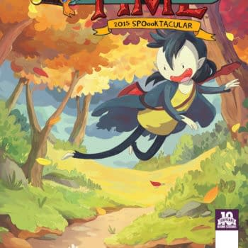 Hang Out With The Vampire Queen Marceline In Adventure Time 2015 Spoooktacular One-Shot #1