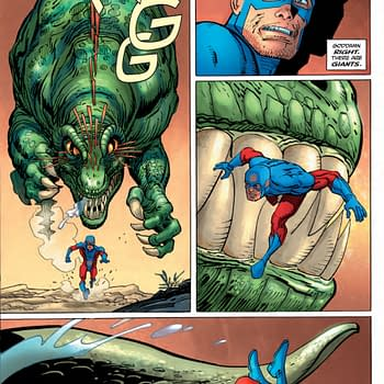 NYCC 15: Preview Art &#8211 Frank Miller Draws The Atom