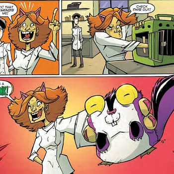 Chew #51 Outdoes DC Comics With Chonk Toy Ads Just in Time For Halloween