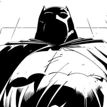 First Panel From The Dark Knight III: The Master Race