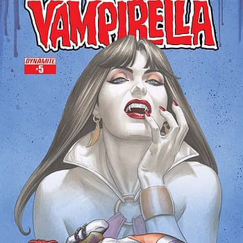 Five Issues In Joseph Michael Linsner Talks Dawn / Vampirella