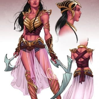 Losing The Golden Pasties, As Frank Barbiere Writes Dejah Thoris With Nicola Scott Redesigns