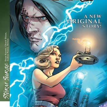 Exclusive Extended Previews: Dean Koontz's Frankenstein: Storm Surge And More