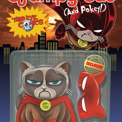 Super Grumpy Cat Action Figure Hits Retailer Exclusive Cover