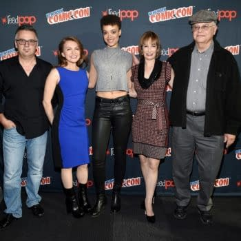 NYCC '15: SyFy's Hunters – Homeland With Aliens