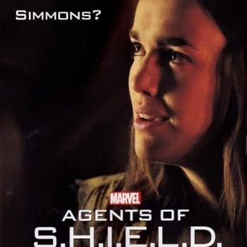 What Happened To Simmons? –  The Poster For Next Week's Marvel's Agents Of S.H.I.E.L.D…