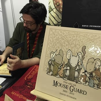 NYCC 15: A Chat With Mouse Guard Creator David Petersen