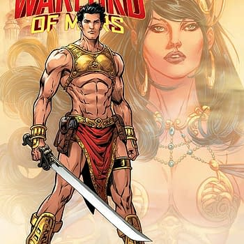 Exclusive Extended Preview Of John Carter: Warlord Of Mars #12