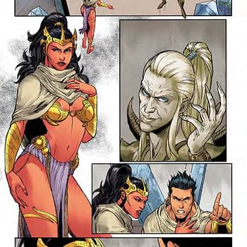 A Look Inside John Carter: Warlord Of Mars #12