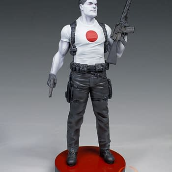 First Valiant Statue To Be Bloodshot Based On The Art Of David Aja