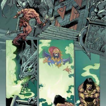 A Look Inside Red Sonja / Conan #3