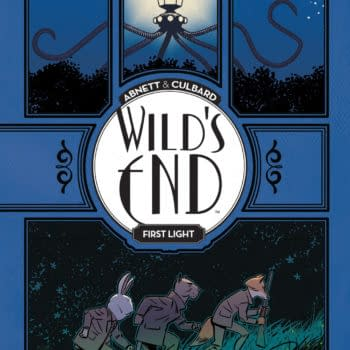 Preview The First 10 Pages Of Wild's End Vol. 1: First Light TP, Out This Week