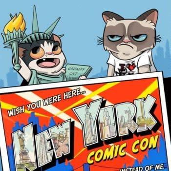 Tavis Maiden's NYCC 2015 Grumpy Cat Exclusive Cover