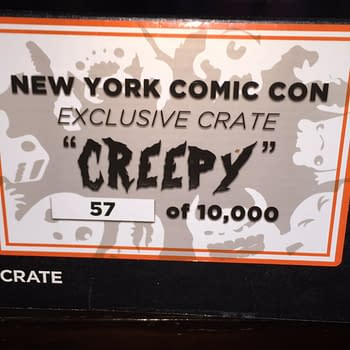 NYCC '15: Unboxing The Creepy Lootcrate