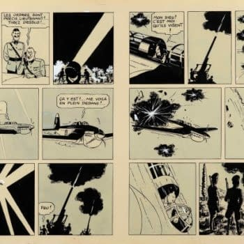 Tintin Page Sells For Over $1,700,000 At Auction, Breaking World Record