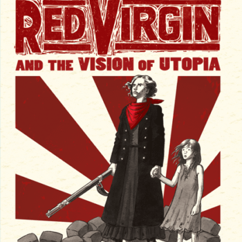 Bryan Talbot's Next Two Graphic Novels – The Red Virgin And The Vision Of Utopia, And New Grandville: Force Majeure