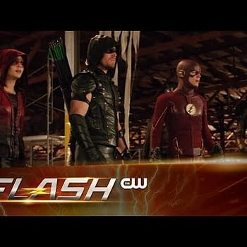 CW Release Extended Trailer For The Flash / Arrow Crossover