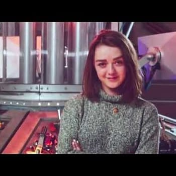 Is Maisie Williams The New Doctor Who Companion Peter Capaldi Answers&#8230 Or Not