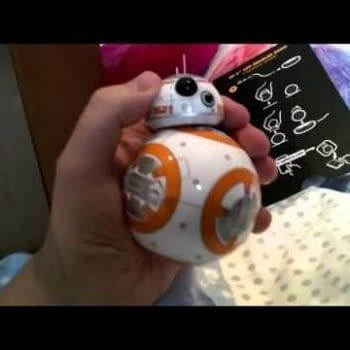 Star Wars: Unboxing BB-8 In A British Bedroom…