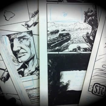 Sam Glanzman Finishes His Final USS Stevens Story Before His 91st Birthday