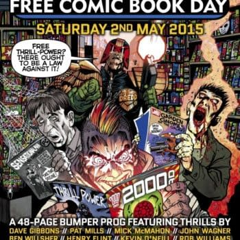 Eric Powell's Judge Dredd Kicked Out Of Free Comic Book Day 2016 (Confirmation UPDATE)