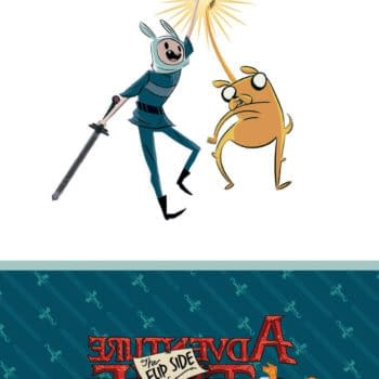 The Diagnosis: Quest Deficiency…Preview Adventure Time: The Flip Side Mathematical Edition HC