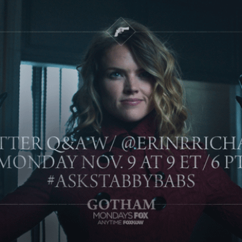 Ask Stabby Babs – Erin Richards To Do Twitter Q&A Today For Gotham
