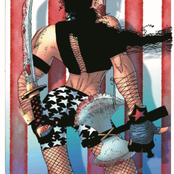 Frank Miller Draws Dark Knight III's Wonder Woman In Fishnets And Hotpants For Brazilian Comic Con