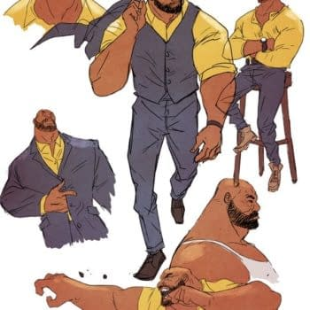 Sanford Greene's Designs For Power Man & Iron Fist Look Like Nothing Else Right Now