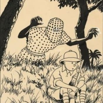 Single Page From Tintin In The Congo Page Sells For $820,000