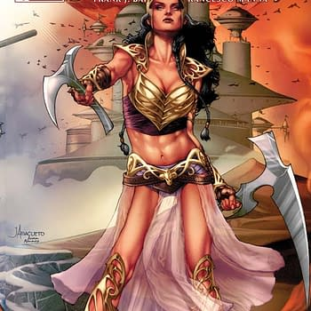 Exclusive &#8211 Dynamites #1s For February: Dejah Thoris Shaft And Grumpy Cat