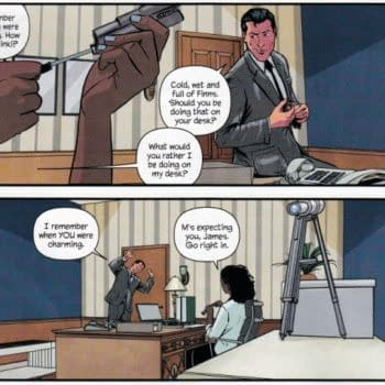 A More Female-Positive Take On Miss Moneypenny In The New Warren Ellis James Bond Comic, Out Today