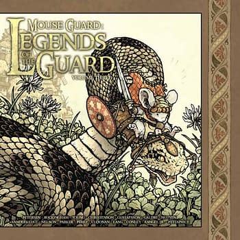 Preview Mouse Guard: Legends Of The Guard Vol. 3 HC And Hear Whats Next For David Petersen