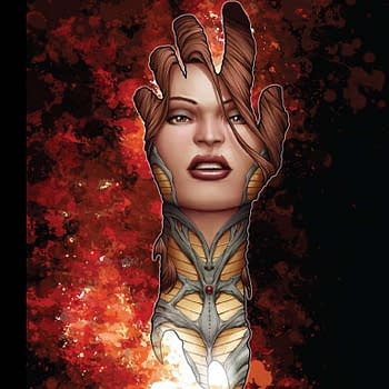 Custom Delayed Art Of Witchblade 20th Ann Hardcover In Stores This Week