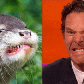 When Benedict Cumberbatch Deliberately Made Himself Look Like An Otter