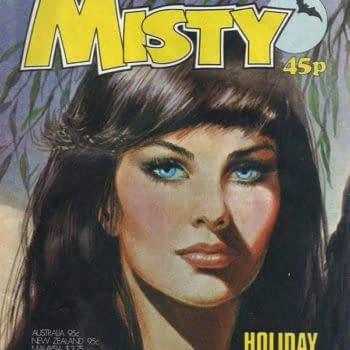 Rebellion Brings Back Misty, The Teen Horror Comic For Girls