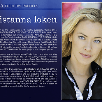 Trio Entertainment &#8211 The New Film/TV Production Company From Jimmy Palmiotti Kristanna Loken And Ray Moheet