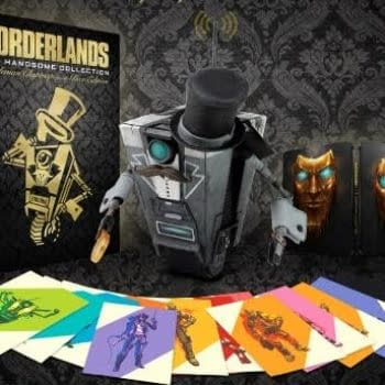 Borderlands: The Handsome Collection Gentleman Claptrap-In-A-Box Edition Coming This Holiday