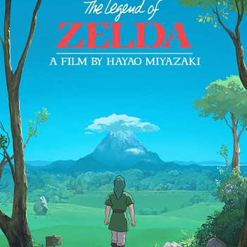 These Fan Posters Crossover Legend Of Zelda And Studio Ghibli