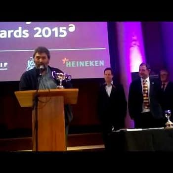 Nick Clegg Defended The Right To Offend At The Political Cartoonist Awards 2015 (VIDEO)