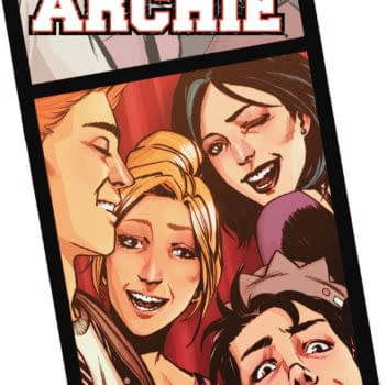 3 Heroes, 2 High Schoolers And A Hedgehog In March 2016 From Archie / Dark Circle