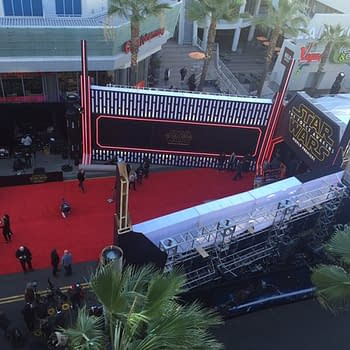 That Star Wars: The Force Awakens Premiere From Above Courtesy Of Akira The Don