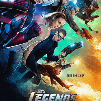 New DC's Legends Of Tomorrow Poster