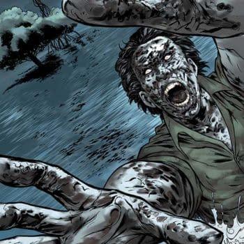 Andres Ponce Art For Dean Koontz's Frankenstein: Storm Surge #3