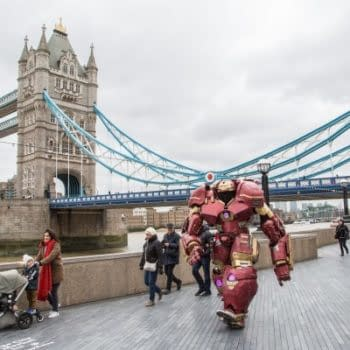 Today, A Hulkbuster Comes To Old London Town