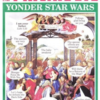 Private Eye Gives Us A Star Wars Nativity In Its Christmas Issue