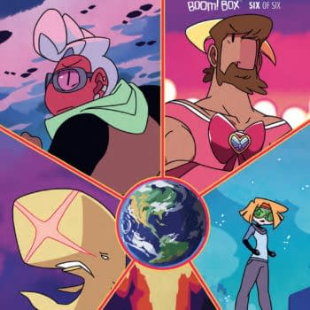 Last Issue! Kate Leth and Matt Cumming's Power Up #6 Releases This Week