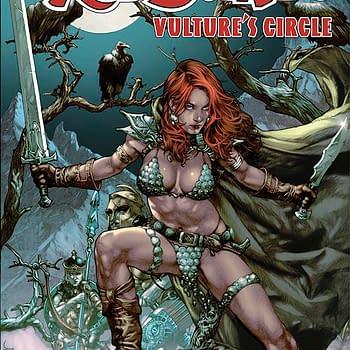 Free On Bleeding Cool &#8211 Red Sonja: Vulture Circle #1