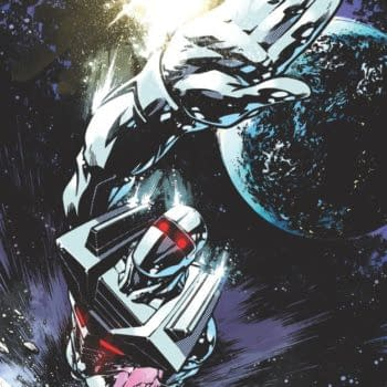 Zach Howard And Nelson Daniel's Process Art For Rom The Space Knight Cover
