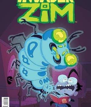 Invader Zim Tops Advance Reorders&#8230 But Everythings Coming Up Poison Ivy